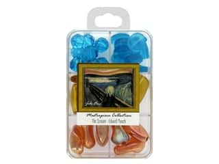 John Bead Glass Bead Masterpiece Collection Box Mix The Scream - Edvard Munch
