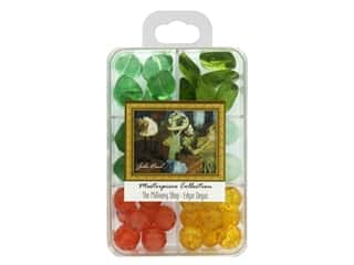 beading & jewelry making supplies: John Bead Glass Bead Masterpiece Collection Box Mix The Millinery Shop - Edgar Degas