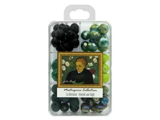 John Bead Glass Bead Masterpiece Collection Box Mix La Berceuse - Vincent van Gogh