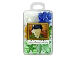 John Bead Glass Bead Masterpiece Collection Box Mix Self Portrait With Bandaged Ear - Vincent van Gogh
