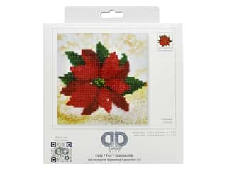 Diamond Dotz Facet Art Kit Mini Poinsettia