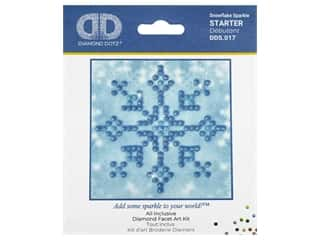 craft & hobbies: Diamond Dotz Facet Art Kit Starter Snowflake Sparkle