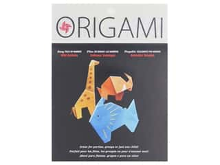 craft & hobbies: Yasutomo Fold Ems Origami Paper 5 7/8 in. 12 pc. By Number Wild Animal