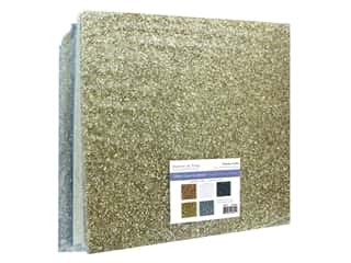 "Multicraft Forever In Time Paper 12""x 12"" Glitter Grass Assorted Metallique (25 pieces)"