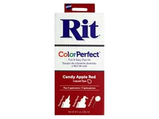 Rit Dye Kit Color Perfect Apple Red 8oz