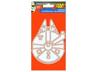 scrapbooking & paper crafts: SandyLion Sticker Star Wars Millennium Falcon