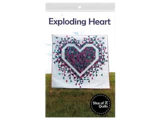 books & patterns: Slice Of Pi Quilts Exploding Heart Pattern