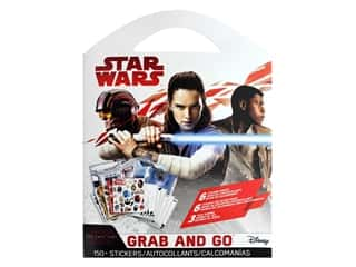 scrapbooking & paper crafts: SandyLion Sticker Star Wars The Last jedi Grab & Go