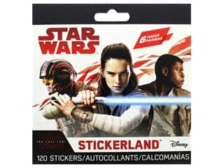 scrapbooking & paper crafts: SandyLion Sticker Star Wars The Last Jedi Stickerland Mini