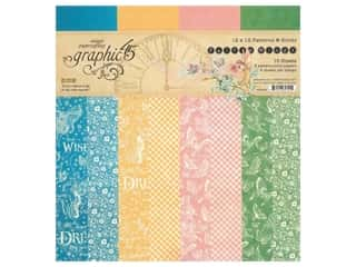 "scrapbooking & paper crafts: Graphic 45 Collection Fairie Wings Paper Pad 12""x 12"""