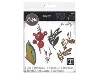Sizzix Dies Tim Holtz Thinlits Holiday Brushstroke