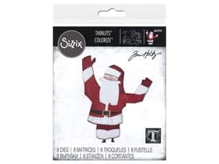 Sizzix Dies Tim Holtz Thinlits Papercut Christmas #1 Colorize