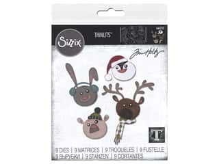 Sizzix Dies Tim Holtz Thinlits Winter Critters