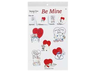 Yesterday's Charm Iron-On Embroidery Transfer - Be Mine