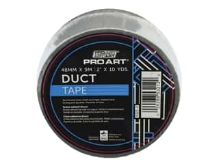 glues, adhesives & tapes: Pro Art Tape Duct 2 in. x 10 yd