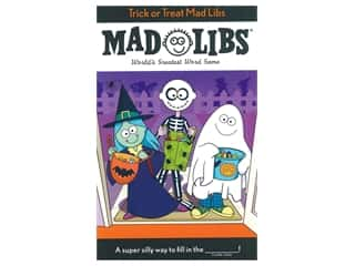 Price Stern Sloan Trick Or Treat Mad Libs Book