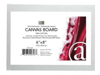 Art Advantage Canvas Board Recycled MDF 6 in. x 8 in.
