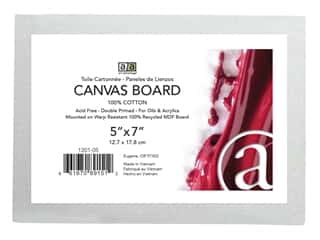 Art Advantage Canvas Board Recycled MDF 5 in. x 7 in.