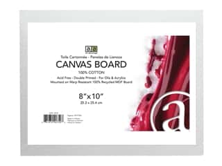 Art Advantage Canvas Board Recycled MDF 8 in. x 10 in.