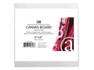 Art Advantage Canvas Board Recycled MDF 6 in. x 6 in.