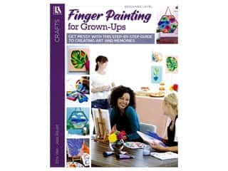 books & patterns: Leisure Arts Finger Painting For Grown-Ups Book