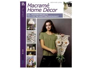 books & patterns: Leisure Arts Macrame Home Decor Book