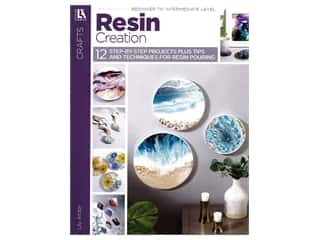 books & patterns: Leisure Arts Resin Creations Book