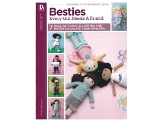 Leisure Arts Crochet Besties Every Girl Needs A Friend Book