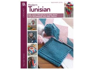 Leisure Arts Modern Tunisian Book