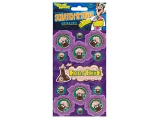 Just For Laughs Sticker Scratch N Sniff Root Beer