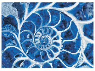 Diamond Dotz Facet Art Kit Intermediate Blue Nautilus