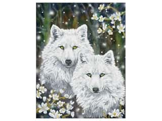 Diamond Dotz Facet Art Kit Advanced Winter Wolves