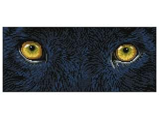 printed eyelashes wiggle eyes: Diamond Dotz Intermediate Kit - Black Panther Spy