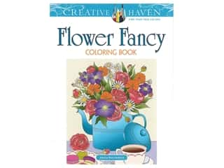 Dover Publications Creative Haven Flower Fancy Coloring Book