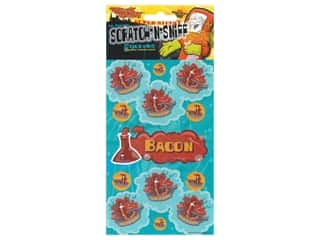 Just For Laughs Sticker Scratch-Sniff Bacon
