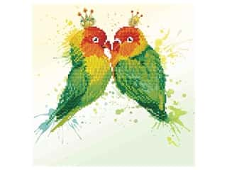 decorative bird': Diamond Dotz Facet Art Kit Intermediate Love Birds