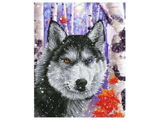 craft & hobbies: Diamond Dotz Facet Art Kit Intermediate Forest Wolf
