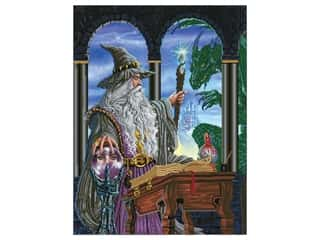 craft & hobbies: Diamond Dotz Facet Art Kit Advanced Wizards Emissary