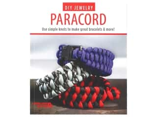 beading & jewelry making supplies: Leisure Arts DIY Jewelry Paracord Book