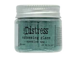 Ranger Tim Holtz Distress Embossing Glaze Speckled Egg