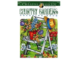 books & patterns: Dover Publications Creative Haven Country Gardens Coloring Book