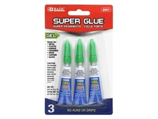 Bazic Super Glue Gel 2gm Tube 3pc