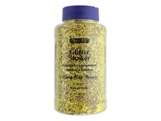 Bazic Glitter Shaker Medium Gold 1lb