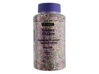 craft & hobbies: Bazic Glitter Shaker Medium Multi 1lb