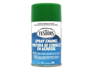 Testors Enamel Spray Paint Gloss Green 3oz