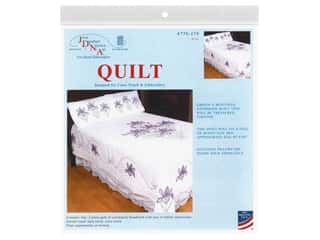yarn & needlework: Jack Dempsey Quilt Full/Queen 2 Piece Iris