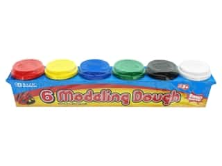 Bazic Modeling Dough 2oz Multi 6pc
