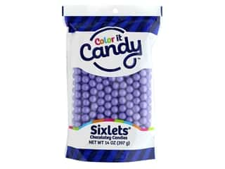 Color It Candy Sixlets Stand Up Bag Shimmer Lavender 14oz