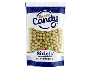 Color it Candy Sixlets - Shimmer Gold 14 oz.
