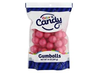 Color it Candy Gumballs - Shimmer Hot Pink 14 oz.